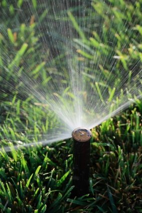 Lawn sprinkler service in Costa Mesa CA by South Cal Landscape.